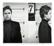 Theodore Bundy - Florida Mugshot 1978 Fleece Blanket