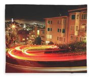 There's Magic In The Night Fleece Blanket