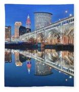 This Is Cleveland II Fleece Blanket