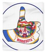 Thumbs Up Minnesota Fleece Blanket