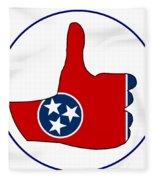 Thumbs Up Tennessee Fleece Blanket