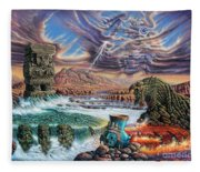 Thundering Gods Fleece Blanket