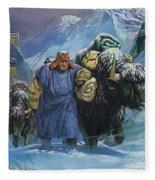 Tibet Fleece Blanket