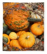Time For Fall Fleece Blanket