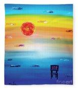 Time Fleece Blanket