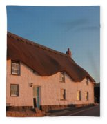 Tinker Taylor Cottage Cornwall Fleece Blanket