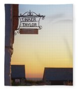 Tinker Taylor Sign Fleece Blanket