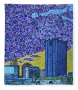 Toledo, Ohio Fleece Blanket