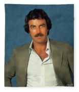 Tom Selleck, Actor Fleece Blanket
