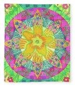 Tom's Squash Blossom Fleece Blanket