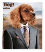 Top Dog Magazine Fleece Blanket by ISAW Company