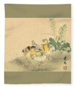 Top Quality Art - Keinen Kachoshokan 12view 3 Fleece Blanket