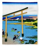 Top Quality Art - Mt,fuji36view-nobotonoura Fleece Blanket