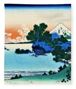 Top Quality Art - Mt,fuji36view-soshu Shichirigahama Fleece Blanket
