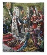 Torquemada, 1492 Fleece Blanket