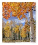 Touch Of Fall Fleece Blanket