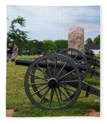 Touring The Gettysburg Battlefield Fleece Blanket