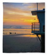 Tower 19, Office With A View Fleece Blanket
