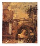 Transcience 1912 Fleece Blanket