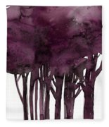 Tree Impressions 1j Fleece Blanket