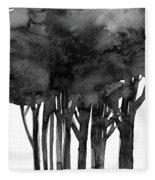 Tree Impressions 1l Fleece Blanket