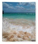 Tropical Fantastic View Fleece Blanket