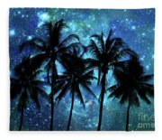Tropical Night Fleece Blanket