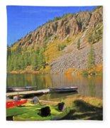 Twin Lakes Fleece Blanket