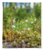 Twinflower Forest Fleece Blanket