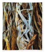 Twisted Tree Limbs Fleece Blanket
