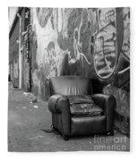 U Street Chair Washington Dc Fleece Blanket