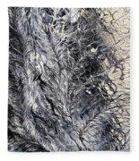 Under His Wing Fleece Blanket
