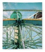 Under The Ferris Wheel Fleece Blanket