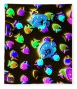 Underwater Glow Fleece Blanket