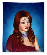 Unicorn Princess Adoria Fleece Blanket