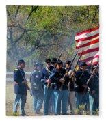 Union Infantry Advance Fleece Blanket