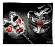 Unmasking Passions Fleece Blanket
