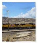 Up 5400 Passing Through Fleece Blanket