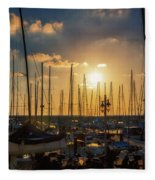 Urban #34 Fleece Blanket