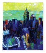 Urban Revisited Fleece Blanket