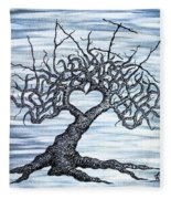 Vail Love Tree Fleece Blanket