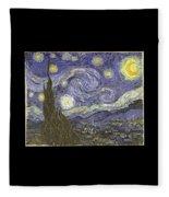 Van Goh Starry Night Fleece Blanket