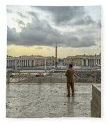Vaticani View Fleece Blanket