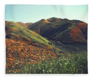 Velvet Hills Fleece Blanket