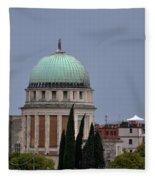 Venetian Skyline Fleece Blanket