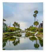 Venice Canals Fleece Blanket