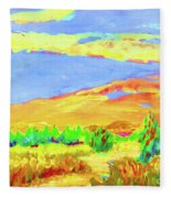 Vibrant Landscape  Fleece Blanket