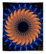 Vibrant Sun Fleece Blanket