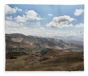 View Of The Village Of Marang From Mui Fleece Blanket