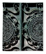 Villa Gate Fleece Blanket